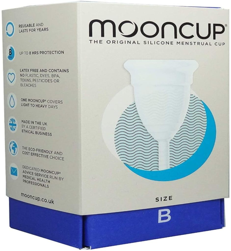 mooncup amazon, copa menstrual redonda, amazon moon cup